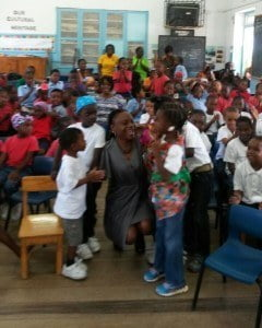"""In her address, Miss Bryan also commended the efforts of the parents and teachers of the Half Moon Fort School community remarking that, """"It is truly amazing and heartening to see this level of commitment to culture not only from the educators but also from the parents at this primary level."""" Submitted by BCC, Corporate Communications Intern – Shannon Gooding"""