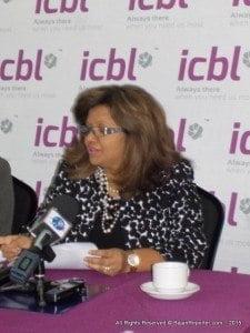 MRS. INGRID INNES;  MGNG. DIR. & CEO – ICBL
