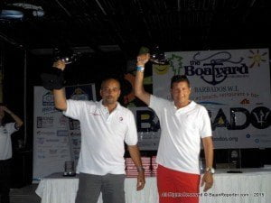 After the results were made final yesterday (Monday), Panton and co-driver Mike Fennell Jnr received their awards from Gina Cummins, brand, communications & external affairs manager of Sol Caribbean, at a packed Prizegiving at The Boatyard beach bar in the island's capital, Bridgetown. As well as trophies for first place, victory in WRC-1 and highest-placed overseas 4wd, they each received a Tissot watch from Little Switzerland.