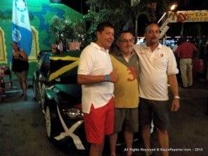 1st Jeffrey Panton - JAM/Michael Fennell Jnr - JAM (WRC-1 Rubis/Total/Sandals Barbados Ford Focus WRC06), 1h 00m 59.71s 2nd Simon Jean-Joseph - FRA/Jack Boyere - FRA (WRC-1 Sol Ford Focus WRC08), + 02.09