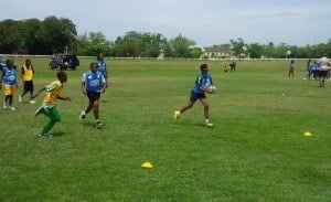 Tag Rugby at the BRFU Primary School GIR Festival