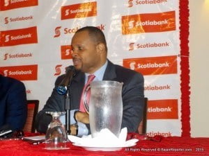 Finance Minister, Christopher Sinckler, made this observation this morning while delivering brief remarks at the launch of Scotiabank's Economic Growth Fund at Courtyard by Marriott, Worthing, Christ Church.