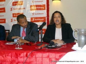 Scotiabank is currently launching a major initiative for the private sector in Barbados - the Scotiabank Economic Growth Fund - a $50 million loan fund which will be available for the next six months catering to small and medium-sized businesses.