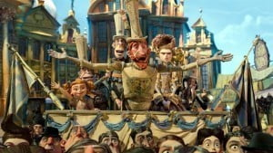 When a villain threatens their existence, Eggs hatches a plan to save his friends with the help of the feisty Winnifred (Elle Fanning). Also featuring the voices of Ben Kingsley (Archibald Snatcher), Jared Harris (Lord Portley-Rind) and more, The Boxtrolls is based on the children's novel 'Here Be Monsters' by Alan Snow.