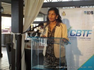 Minister of Labour, Social Security and Human Resource Development, Senator Dr. Esther Byer (Fmr. Suckoo), alluded to this yesterday while addressing an awards ceremony at Sea Breeze Hotel, Maxwell, Christ Church, that announced the third round of winning partnerships to gain funding from the CBTF.