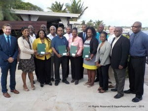Those making up the partnerships are: C.O. Williams Construction Ltd and the Barbados Employers' Confederation; Niccolls & Edghill (Construction) Ltd and Grantley Adams Memorial Secondary School; A1 Supermarket Ltd and Star Apple Inc. and The Productivity Council; Greaves Furniture and the Barbados Vocational Training Board; the Barbados Agricultural Society and St. George Secondary School; and The Dining Club, who will engage in self-training.