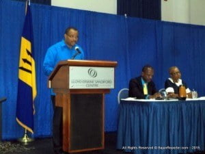 Finance Minister, Chris Sinckler, outlined the key steps as amending the Income Tax Act and putting the necessary administrative and IT infrastructure in place. He made this disclosure today during the Barbados Revenue Authority's public consultation on Implementing the Foreign Account Tax Compliance Act (FATCA): Where are we Now? at the Lloyd Erskine Sandiford Centre.