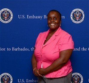 Felicia Cox, Renewable Energy Coordinator at the Barbados National Oil Company is participating in the U.S. Department of State's International Visitor Leadership Programme