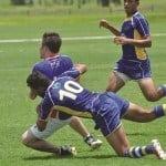 Jake Caddy tackle