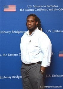 Jason Marshall, Electrical Services Project Manager at TMR Sales & Service Limited in Barbados is participating in the U.S. Department of State's International Visitor Leadership Programme