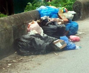 "(FILE IMAGE) Cherry who hails from Bush Hall in St. Michael says, his team will tomorrow Sunday July 26th 2015 be undertaking a massive cleanup campaign in his ""home town"" ridding it of as much garbage as he can so that the place can be as he remembered it ""spotless""."