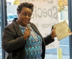 Rosanne Small-Morgan is beloved speaker and autism advocate and has received numerous citations and awards for her work with the disorder