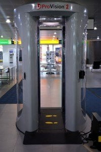 L-3 ProVision security screening machine installed at SXM Airport. (SXM photo)