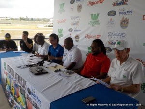 At a Media Briefing on Wednesday, 23 regional entries were confirmed for the Williams Industries Digicel International Race Meet (September 12/13), which features round three of the CMRC, with drivers and riders travelling from the Cayman Islands, Guyana, Jamaica, St Vincent & The Grenadines and Trinidad & Tobago.