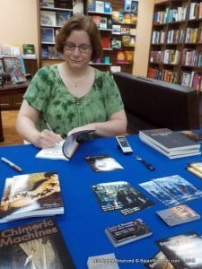 Lucy A. Snyder grew up in the cowboys-and-cactus part of Texas but currently lives in Worthington, Ohio. Her short work has appeared in publications such as Strange Horizons, Doctor Who Short Trips: Destination Prague, Chiaroscuro, Full Unit Hookup, and Lady Churchill's Rosebud Wristlet.