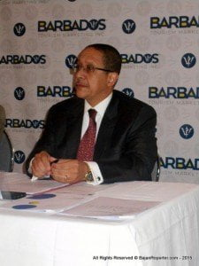(FILE IMAGE) CEO at the BTMI, William Griffith, said, even with the current positive momentum, they had been working with their partners to ensure Barbados performed similarly during the softer months ahead, particularly September and October.