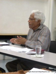 The first and most senior of our four living legends of literature is 88 year old George Lamming, who is considered to be the dean of Caribbean writers - an accolade bestowed upon him by the great literary critic, C.L.R. James, way back in the 1960's.