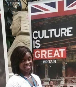 Maria Farley, Chevening Scholar from Barbados 2014-15, will be returning home soon. She said: 'My Chevening year was an amazing experience that allowed me to meet people from all over the world and learn more about their culture.'