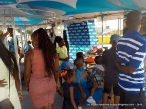 So it was no surprise when Flow ensured that there was something for everyone over the two days of Bridgetown Market, including a Clowns on Show for the smaller children and Weiser's Waterfest for those who wanted to be more active.