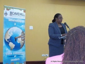 Meanwhile, Nicola Harris, HR manager at First Citizens (Barbados) Ltd said the five-year partnership between the bank and the CHSB resulted in many benefits, with the bank offering specialised courses plus funding for various initiatives at the facility since 2012.
