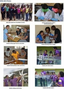 The program was conducted using the facilities of the UWI, Barbados, and the students were challenged with classes that included university-level calculus, physics, biochemistry, entrepreneurship and Mandarin, and hands-on projects in under-water robotics and renewable energy/electronics.