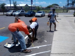 In partnership with the Barbados Council for the Disabled the project is geared towards standardizing Disabled Parking Bays to meet International requirements.