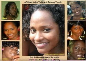 The horrific Campus Trendz tragedy, when the lives of six totally blameless and innocent young women were simultaneously destroyed by an act of criminal violence. This, in our opinion, is a tragedy which has the greatest potential to impact upon the individual and collective consciences of our people.