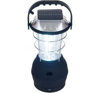 """The lanterns are powered through a built?in solar cell and are designed with back?up battery and """"hand cranking"""" charging options. They provide light through energy efficient LED bulbs and include a built?in USB port, which makes them capable of charging mobile phones and other electronic devices. The lanterns are an appropriate fit to the post?disaster activities and, upon exposure to six hours of sunlight, provides lighting and power for communication devices, which can simultaneously improve the situation of residents and assist emergency field workers in the discharge of their tasks."""