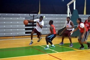 The NBA coaches said the players in BVI showed great technical ability and tenacity on the court
