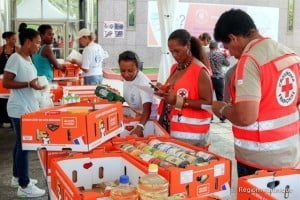 """The raise of donations has started in Martinique since Saturday August 29th and will be held until Thursday September 3rd. On Friday September 4th, The French Red Cross which collaborates with the office of Disaster Management of Dominica will distribute the numerous donations collected through the operation """"Caribbean Solidarity""""."""