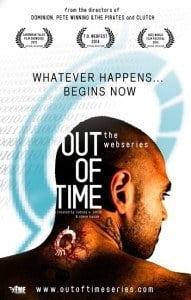 'Out of Time' is a first feature length Science Fiction from a Barbadian Director and is much more than spaceships and ray guns. It follows a man who has to change his past as he is implicated in the murder of his girlfriend, so must go back in time in order to save her.