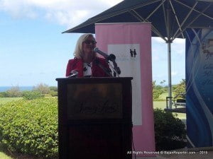 "Trustee Phillipa Challis, speaking at the Sandy Lane Country Club recently explained this alliance was to ""give medical aid to various different children in Barbados, both home and overseas""."