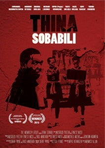 "The Festival will also welcome young filmmakers from South Africa who have been touring Africa and North America with their award winning film ""Thina Sobabili"" (The Two of Us). The South Africans are expected to be in Barbados for the week of October 19th, 2015 for the International component of this year's Festival."