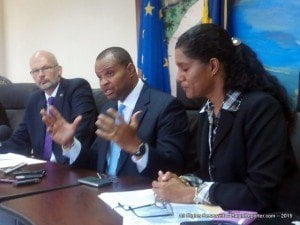 Head of the Delegation of the European Union to Barbados, Ambassador Mikael Barfod, said at a press conference today that this represented the fourth payment of the overall contribution of BDS$112 million to the sector.