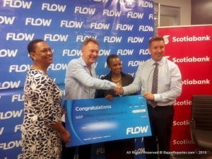 "He noted that the BEF FLOW $20 Challenge was extremely important as it fit into Flow's DNA and was therefore the reason the company sought to invest more than $20 000 into the programme. ""It is designed to help our children understand more of what an entrepreneur is, show them what it takes to be one, take them through stories or cases of entrepreneurs and help them to become an entrepreneur, themselves""."