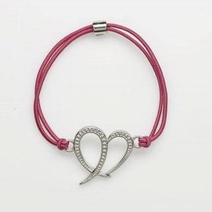 The latest in an annual series of tastefully designed accessory bracelets from Payless ShoeSource - featuring the iconic pink ribbon - will go on sale from October 1st at all Payless ShoeSource Stores in Barbados. Payless will fulfill its partnership with the Breast Screening Programme of Barbados Cancer Society by donating USD $1.00 from every bracelet sold.
