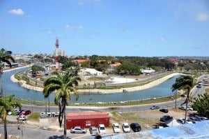 Constitution River in Bridgetown, Barbados following the second phase of its upgrade. CDB has approved USD $6.88 million in financing to complete another phase, which will help reduce the incidence of flooding in Bridgetown.