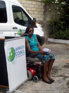 "Mrs. Maria Holder-Small, President of the Barbados Council for the Disabled in accepting the donation indicated: ""This is a timely and much appreciated donation as only a small percentage of the requirements for accessible transportation for persons with disabilities are being filled in Barbados. The Council has attempted to address this void over the past fifteen (15) years. This new donated bus, the second bus funded by The Maria Holder Memorial Trust, will therefore provide an invaluable service to a number of beneficiaries in our Council's membership""."