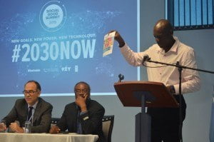 UNDP Barbados and the OECS's aim for the Social Good Summit was to help make the new Goals famous at the national level. Making the Goals famous will be the first important step in achieving this new and ambitious development agenda.