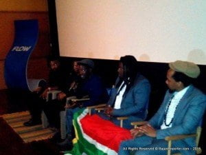 The evening was also the Caribbean premier of Thina Sobabili: The Two of Us, a powerfully dramatic rendition of the intricacies of domestic abuse. This South African film just entered into the 88th Academy Awards for 2016; its director Ernest Nkosi explained how the haunting soundtrack came into existence;