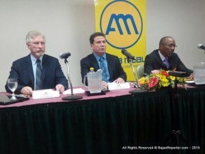 President, CEO of Ansa Mc Al (Barbados) Limited, Nicholas Mouttet vowed that even after the injunction to freeze trading is lifted they will keep the offer of 6 dollars per share for all involved as a sign of good faith, they emphasised this 50% more than the highest offer for BHL.