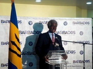 He also observed that the expansion of JetBlue's service is supported by the US-Barbados Open Skies Agreement signed in 2010, which promotes increased travel and trade, enhances productivity and scores high quality job opportunities and economic growth.