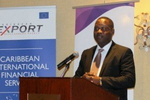 """Minister Inniss compared the rules set by international establishments to a new form of neo-colonialism. He further stated that """"each of these institutions has its own set of rules and we are constantly trying to play by them so that we don't lose our Correspondent Banking relationships, or don't get blacklisted. We need to change this. We have to build regional partnerships and identify issues and solutions long before international entities ask us any questions. We must start sending the message that we are knowledgeable, responsible and engaged."""""""