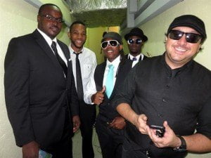 Some members of the NJ30+ band