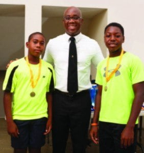 """In his welcome, General Manager of Sol (Barbados) Ltd., Ezra Prescod, offered congratulatory remarks to the players and to the BTA, """"We are very pleased with the performances and the high level of skill and enthusiasm exhibited by players of all ages, which made for an exciting tournament,"""" said Prescod."""