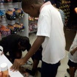 The local component of the 'Payless Gives Shoes 4 Kids program' is a fulfillment of a commitment made by the company at its official launch in Barbados in May, 2012.