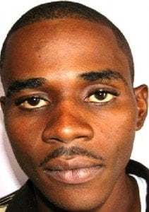 The 29 year old from 1st Ave Maxwell, Christ Church, was caught by lawmen over the weekend.