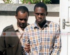 (IMAGE VIA - Daily Nation) The accused appeared before Chief Magistrate Pamela Beckles at the Oistins Court, and has been remanded to re-appear in the District 'C' Court by January 12th next year.