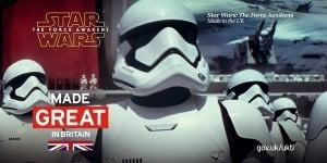 Almost 40 years ago the incredible story between Great Britain and Star Wars began with the production of Star Wars: A New Hope at Elstree Studios.