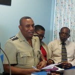 During a press conference held recently at the 50th Anniversary of Independence Celebrations Secretariat, in the Old Town Hall Building in Bridgetown, Assistant Superintendent Ronald Stanford outlined a number of measures to be undertaken for the ceremonial parade through The City, and the multi-media concert in Independence Square.